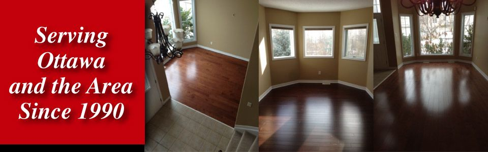 Wood floors - Serving Ottawa and the Area Since 1990
